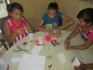 A creative activity.
