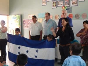 Wayne's visit to Bilingual School 047