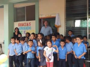 Wayne's visit to Bilingual School 112