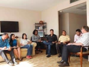Hombro a Hombro Board of Directors meeting in Tegucigalpa.