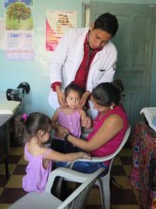 Rigoberto at the Health Center