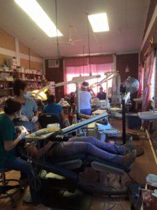 Dental Brigade in Full Swing