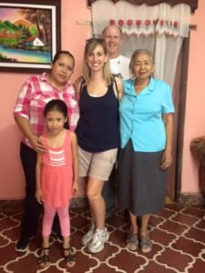 Dental Brigade Visiting Family