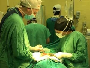 Surgery in Honduras by UHMLA