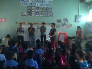 MAHEC brigade at the bilingual school
