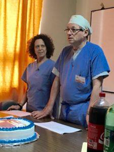 Dr. Rolandelli with Dr. Susan Kaye