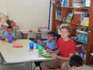 Braxton at the bilingual school